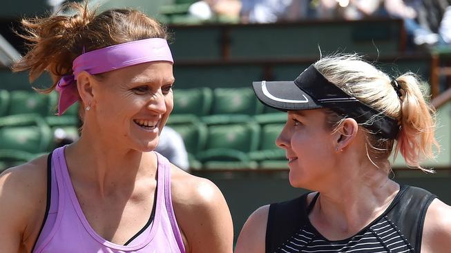 Lucie Šafářová a Bethanie Matteková-Sandsová tvoří druhý nasazený pár Turnaje mistryň