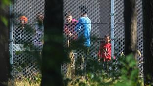 Uprchlický tábor v Bělé