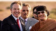 Blair se snažil zachránit Kaddáfího před ponížením