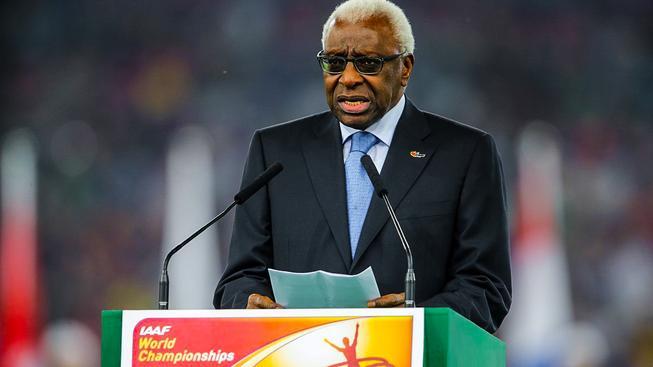 Bývalý předseda IAAF Lamine Diack