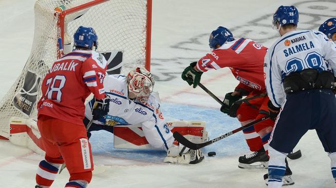 Jediný gól českého týmu vstřelil útočník Milan Gulaš