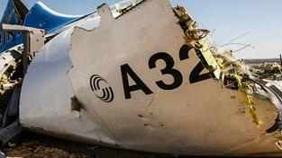 Část trosek ruského airbusu