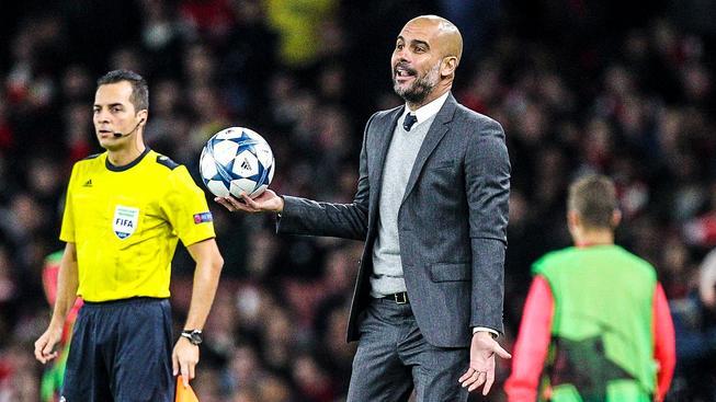 Guardiola trénuje Bayern od sezony 2013/2014