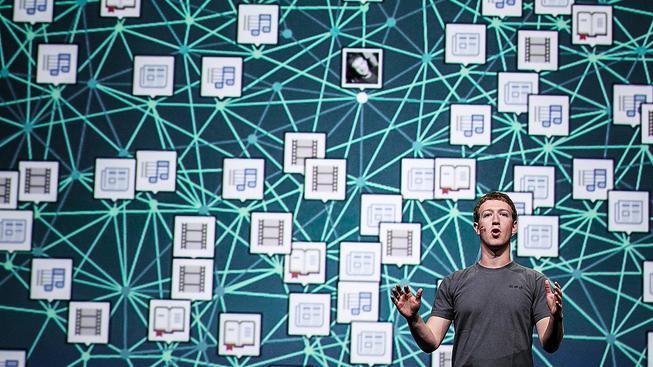 Mark Zuckerberg má z čísel určitě nemalou radost