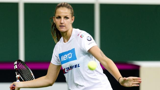 Překvapivou dvojkou českého týmu je Karolína Plíšková