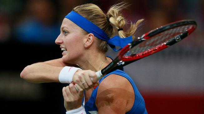 Petra Kvitová nedokázala nadějně rozehraný zápas dovést do vítězného konce