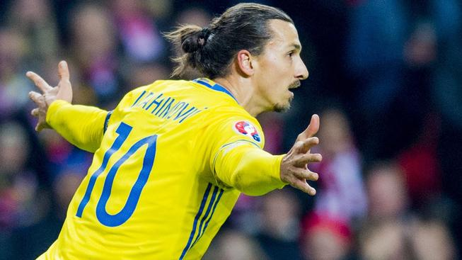 Ibrahimovič pomohl Švédsku ke čtvrtému postupu na ME v řadě