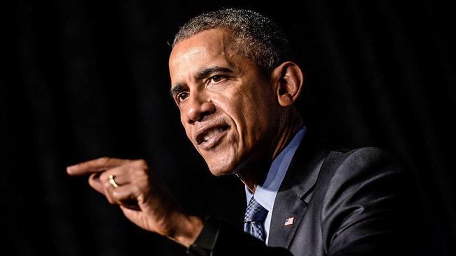 Podle Obamy odmítáním Syřanů, kteří se pak zklamaní vracejí do vlasti, nahráváme IS