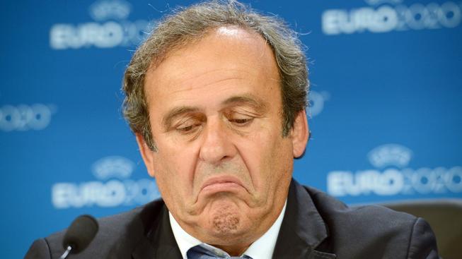 Platinimu se rozpadá sen o tom, že se v příštím roce stane prezidentem FIFA