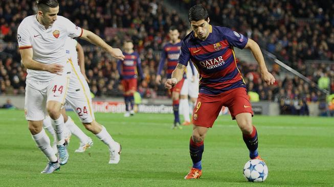Dvěma góly se pod kanonádu Barcelony podepsal i  Luis Suárez