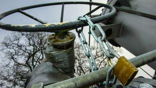 Ruský plyn na Ukrajinu neteče. Ilustrační snímek