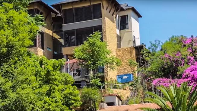 Exteriér Krejčířovy vily v Johannesburgu