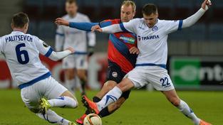 Za pět zápasů v základní skupině EL vstřelili hráči Plzně pouze pět branek