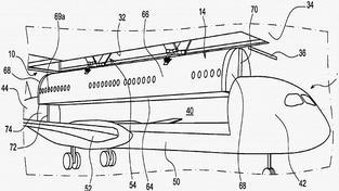 Letadla by měla podle patenu vyndavací kontejner s kabinou pro cestujícíc