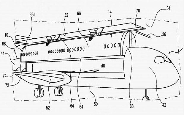 Inovace v létání: Airbus si patentoval kabinové kontejnery i palandy pro cestující