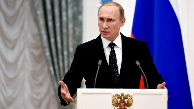 Ruský prezident Vladimir Putin (ilustrační foto)