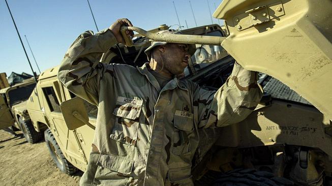 Americká armáda posílá na Ukrajinu vojenské haraburdí (ilustrační snímek)
