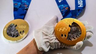 Olympijské medaile ze Soči. Ilustrační snímek