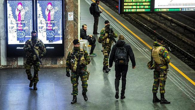V Belgii platí třetí stupeň pohotovosti