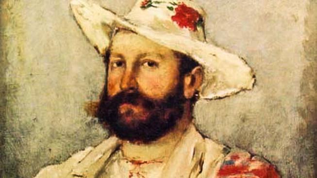 Portrét mecenáše Alexandra Brandejse