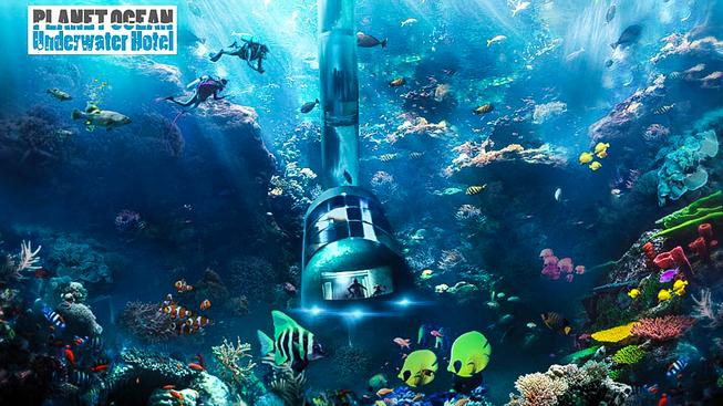 Planet Ocean Underwater Hotel MINI