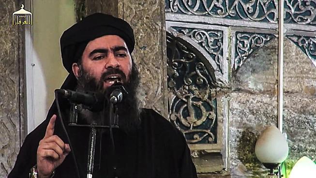 Vůdce Islámského státu abú Bakr Bagdádí