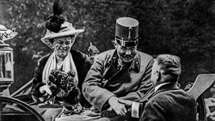 František Ferdinand s chotí Sofií