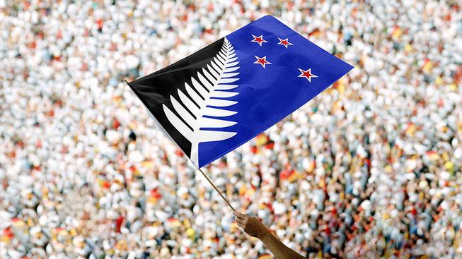 Lidem se nejvíce líbí vlajka Silver Fern