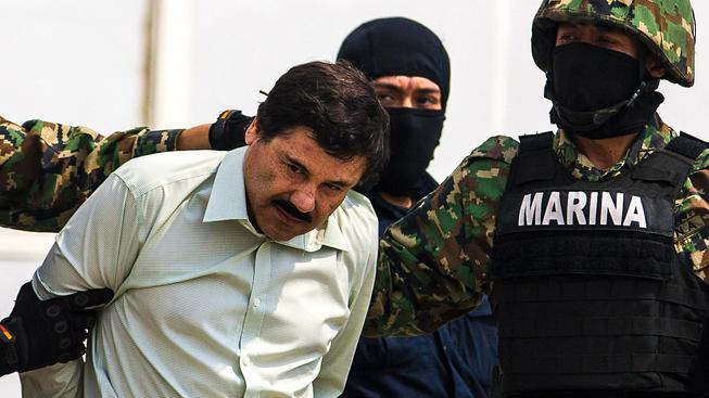 Mexická narkolegenda 'El Chapo'