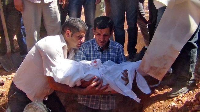 Pohřeb Alana Kurdí proběhl v syrské Kobani