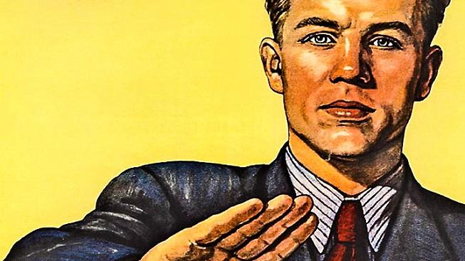 Slavný sovětský plakát