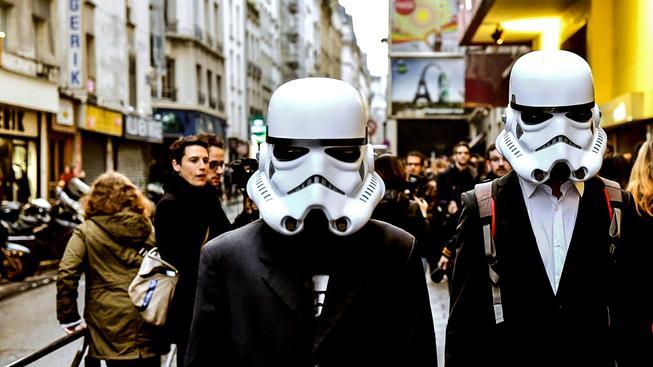 Slavnostní předpremiéra filmu Hvězdné války: Síla se probouzí v Praříži