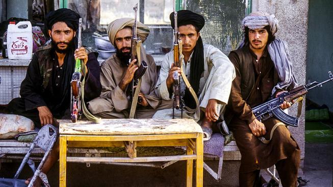 Bojovníci afghánského Talibanu