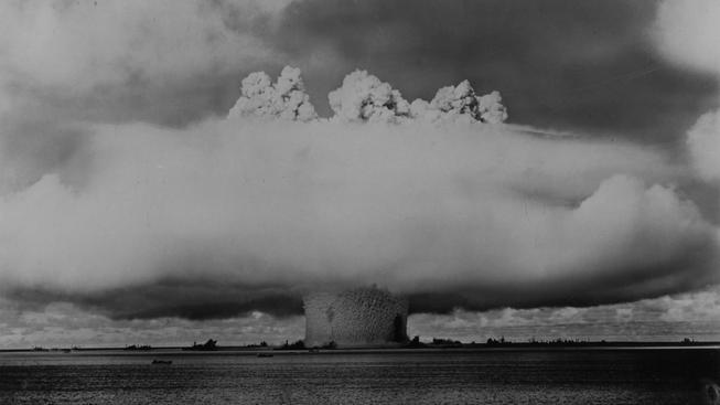 Kdyby bylo potřeba a vypukla jaderná válka, byla mezi terči atomových pum i česká a slovenská města (ilustrační snímek)