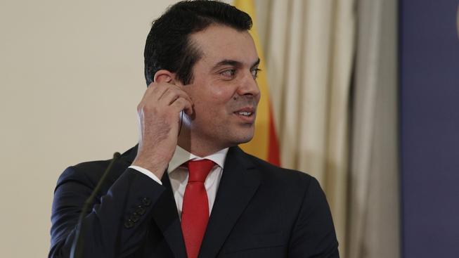 Řecký ministr zahraničí Nikos Kotzias