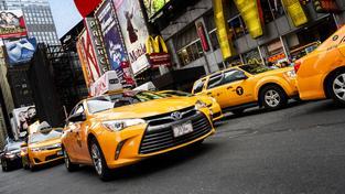Začíná soumrak žlutých newyorských taxíků? (ilustrační snímek)