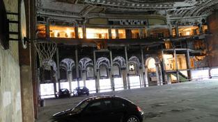 Bývalá koncertní síň v Detroitu