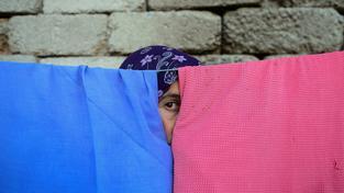 Sedmadvacetiletou iráckou jezídku Bahar znásilnili bojovnici nejdříve Mosulu, pak při útěku