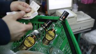Téměř desetina výdajů ruské domácnosti jde na alkohol a cigarety