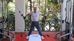 Vladimir Putin jako sportovec, ani to nesmělo v kalendáři chybět