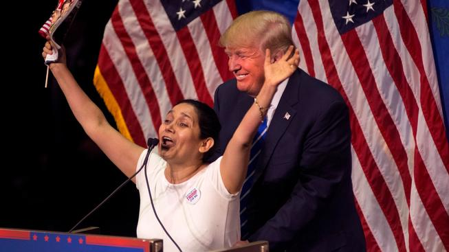Donald Trump má své fanoušky rád