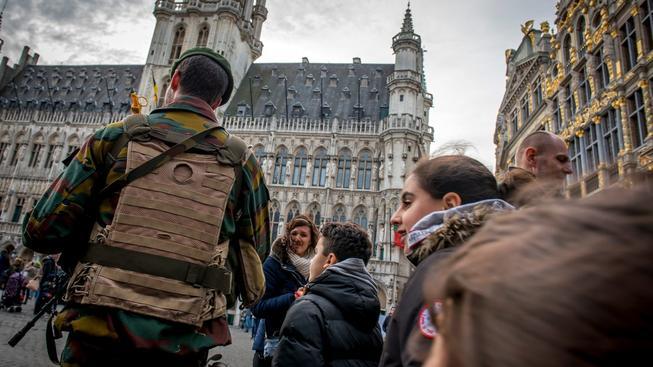 V Bruselu vládnou přísná bezpečnostní opatření