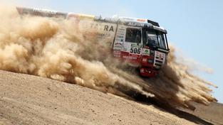 Martin Kolomý chce na Dakaru vylepšit sedmé místo z minulého roku