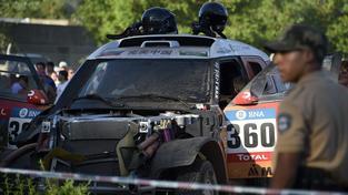 Prolog Dakaru předčasně ukončila nehoda Číňanky Kuo Mej-ling