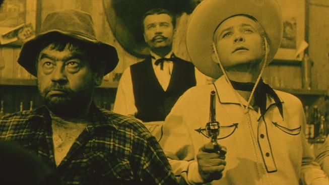 Záběr z kultovního snímku Limonádový Joe