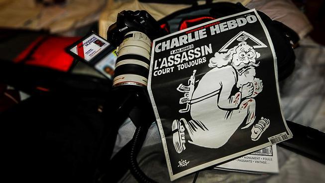 Speciální vydání Charlie Hebdo k výročí