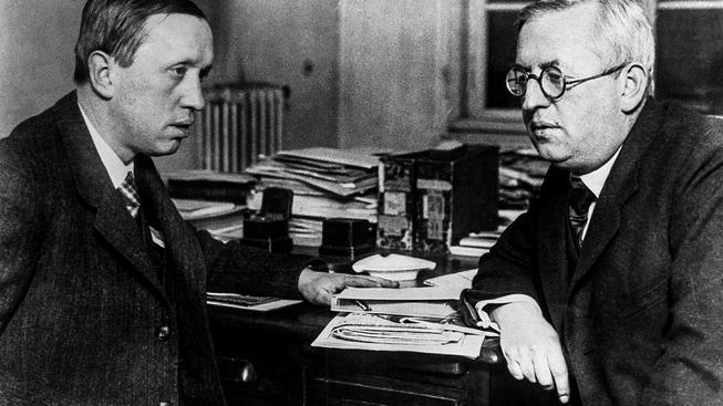 Karel Čapek s bratrem Josefem Čapkem