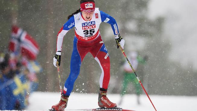 Eva Vrabcová-Nývltová se po prodělaných zdravotních problémech vrací k lyžování