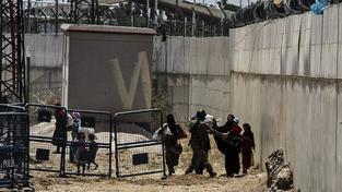 Hraniční přechod u syrského Tel Abjádu