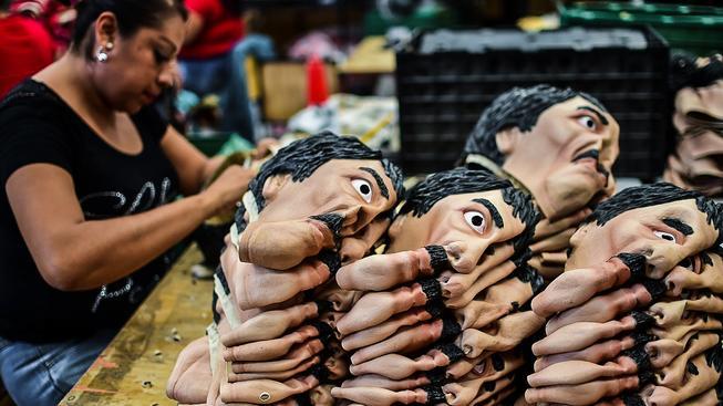 Prcek je tak legendární postavou mexického podsvětí, že Mexičané vyrábějí i jeho masky